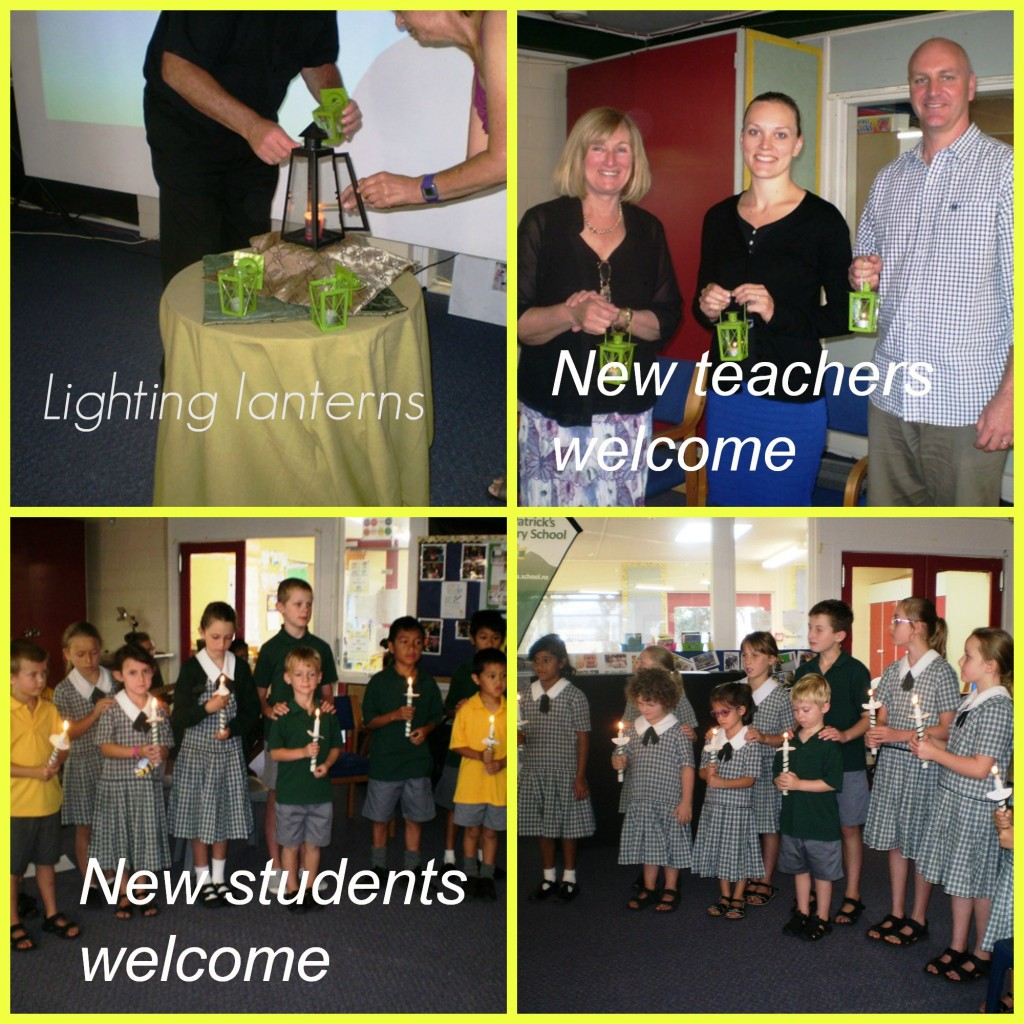 Welcome assembly